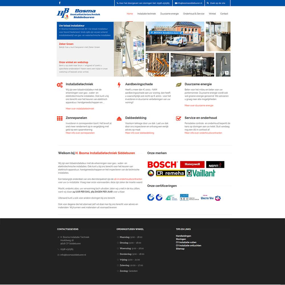 Bosma-website